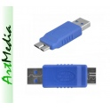 adapter wtyk micro USB 3.0 - wtyk USB A 2.0